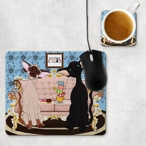 Siamese & Oriental Mouse Mats