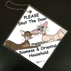 Siamese and Oriental Signs
