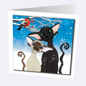 Siamese and Oriental Cat Cards