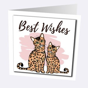 Bengal Cat Cards