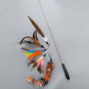 Fishing Rod Cat Toys