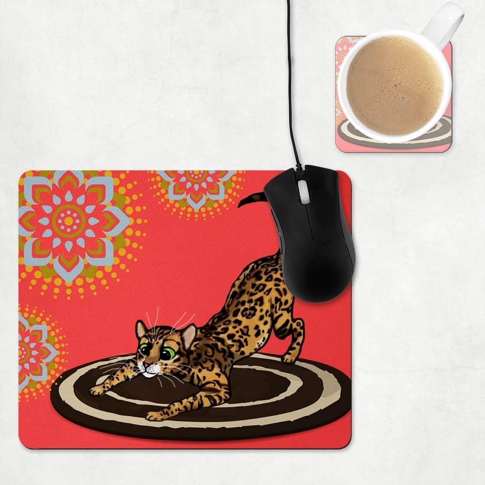Bengal Mouse Mats